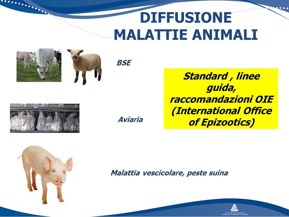 DIFFUSIONE MALATTIE ANIMALI
