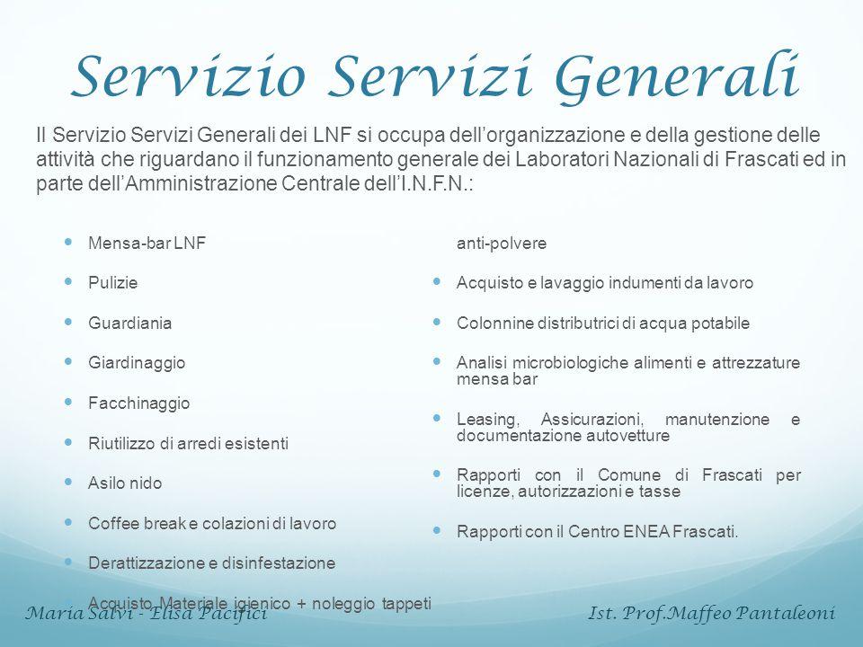 Servizio Servizi Generali