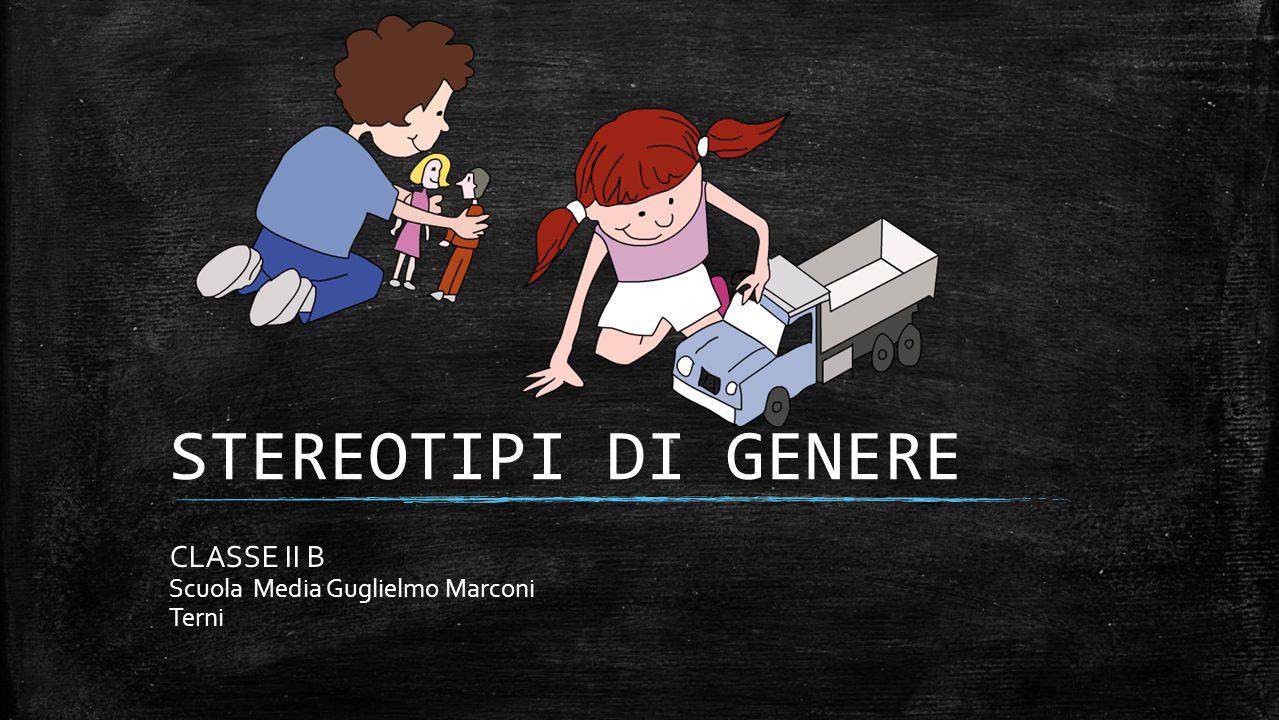CLASSE II B Scuola Media Guglielmo Marconi Terni