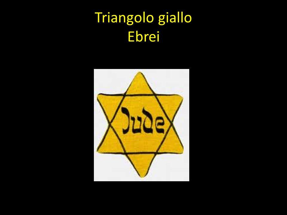 Triangolo giallo Ebrei