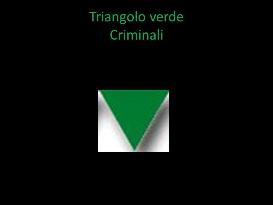 Triangolo verde Criminali