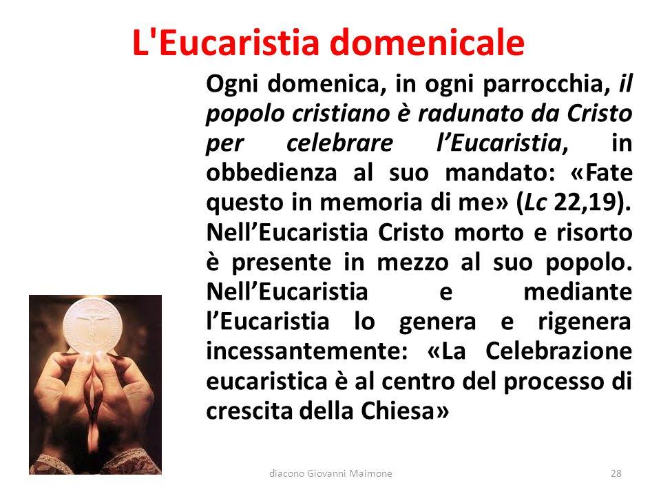 L Eucaristia domenicale