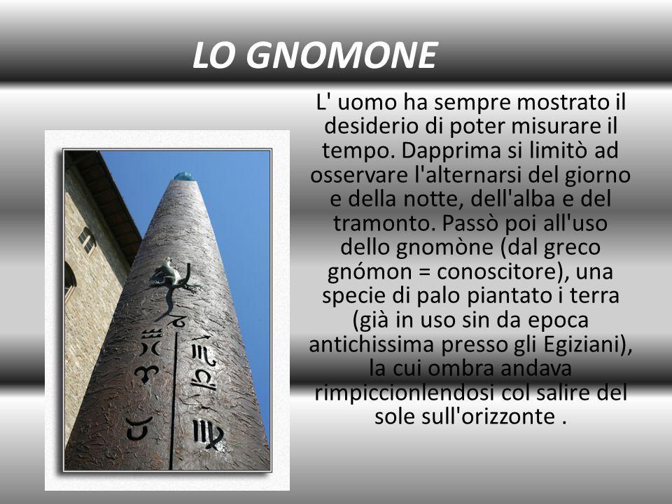 LO GNOMONE