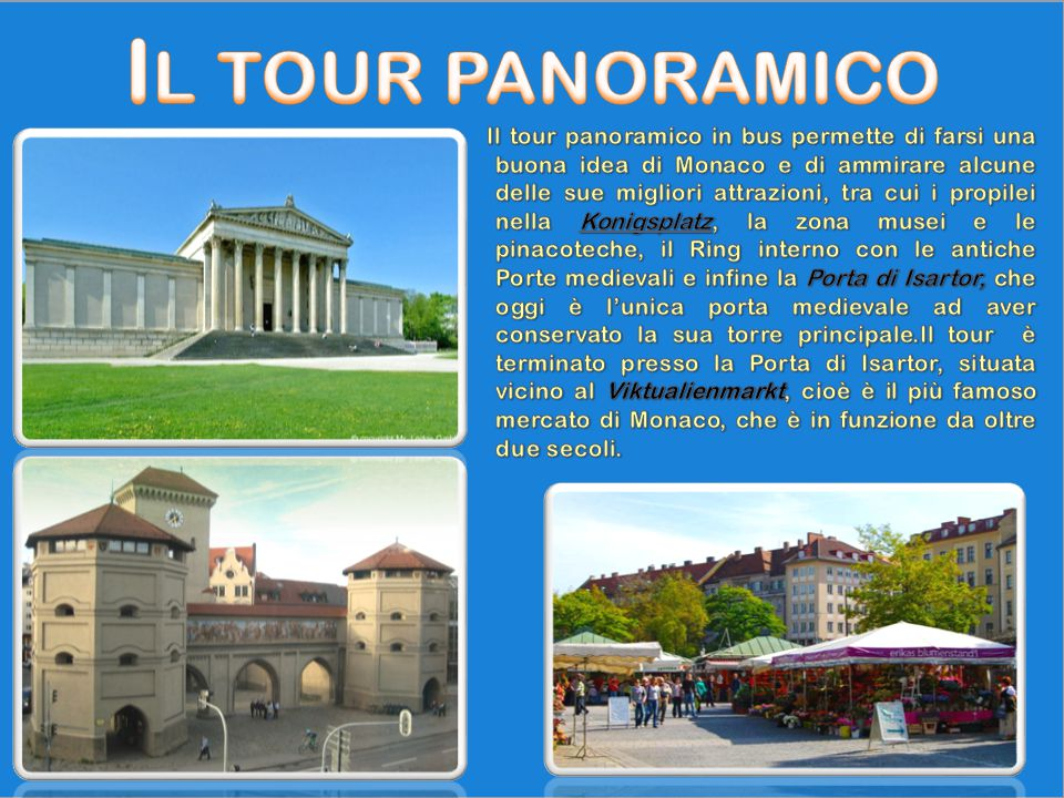 Il tour panoramico