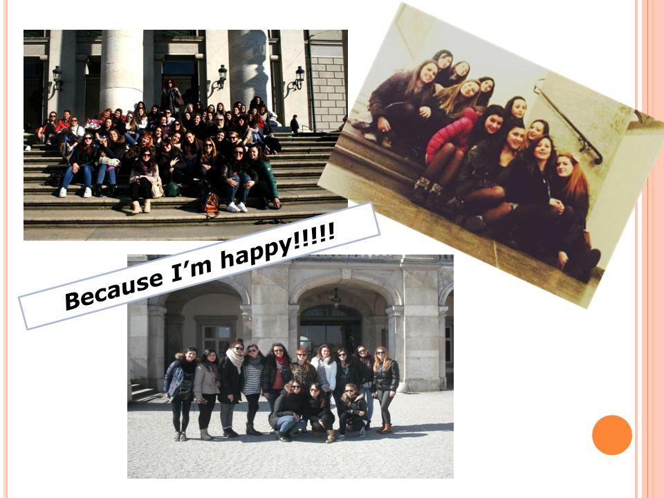 Because I'm happy!!!!!