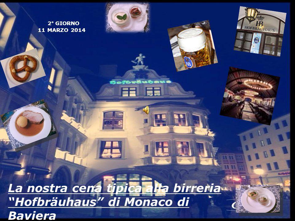 La nostra cena tipica alla birreria Hofbräuhaus di Monaco di Baviera