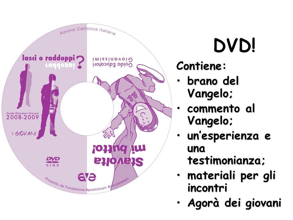 DVD! Contiene: brano del Vangelo; commento al Vangelo;