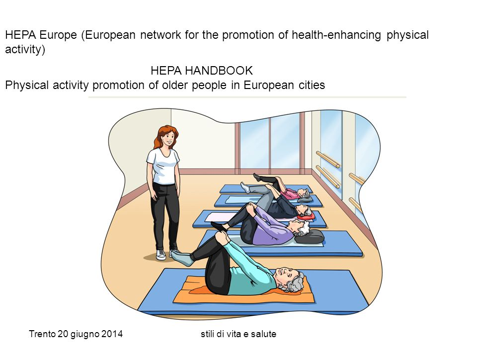 Physical activity promotion of older people in European cities