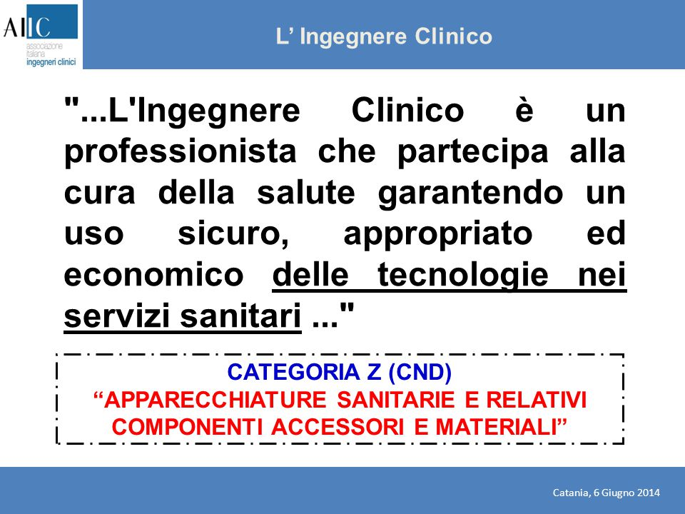 L' Ingegnere Clinico