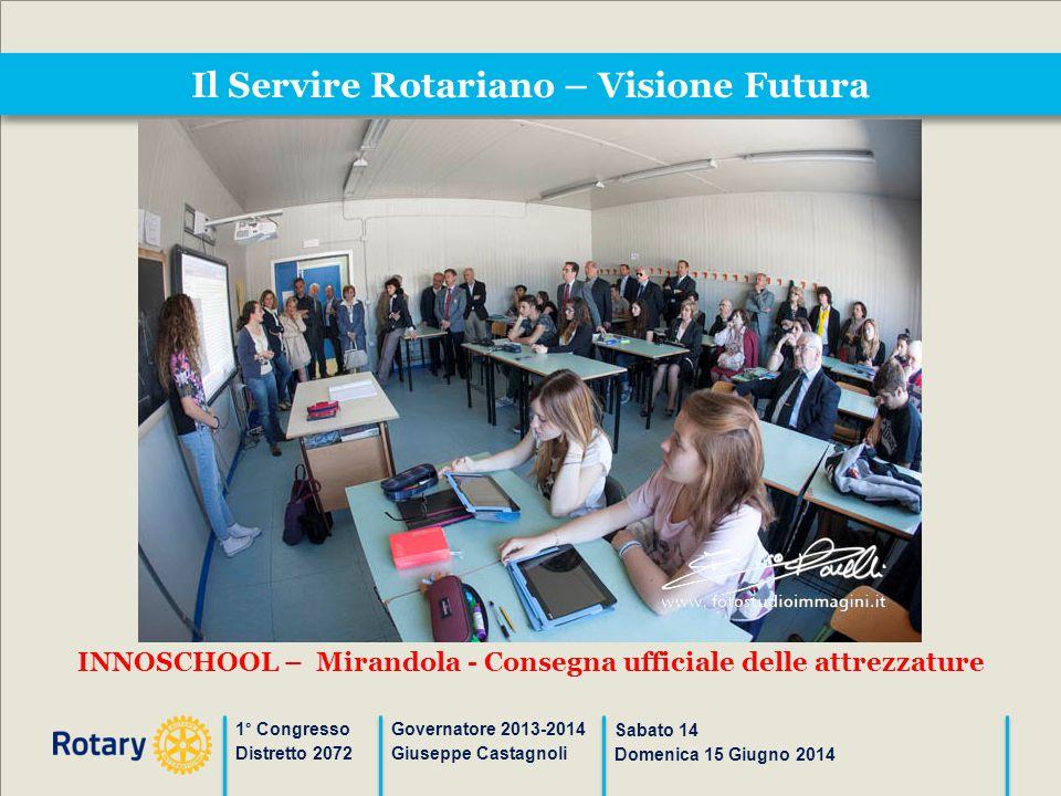 Il Servire Rotariano – Visione Futura