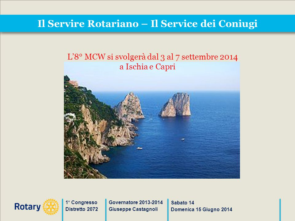 Il Servire Rotariano – Il Service dei Coniugi
