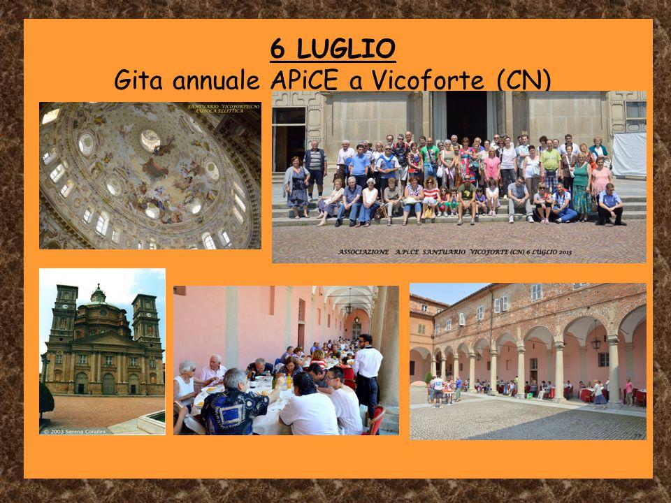 Gita annuale APiCE a Vicoforte (CN)