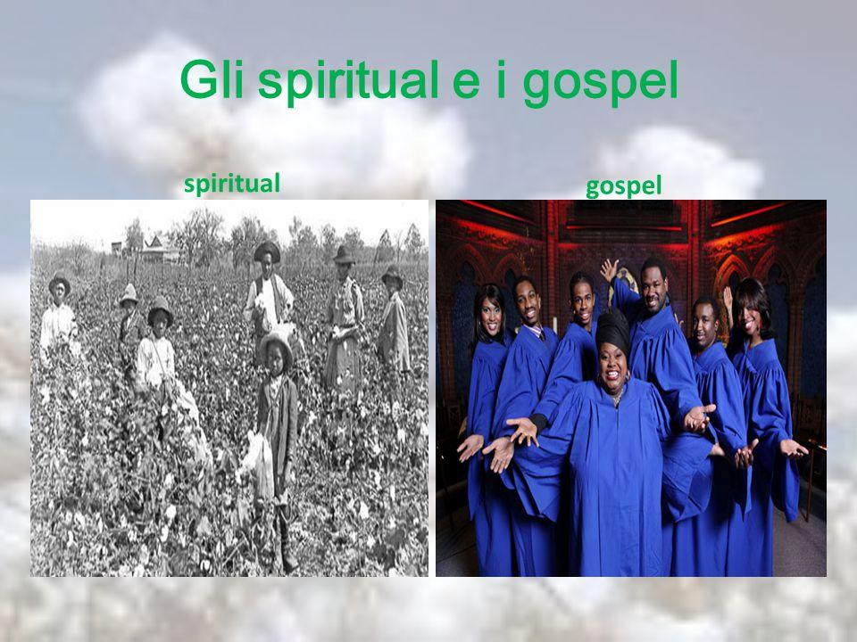 Gli spiritual e i gospel