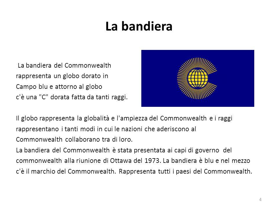 La bandiera La bandiera del Commonwealth