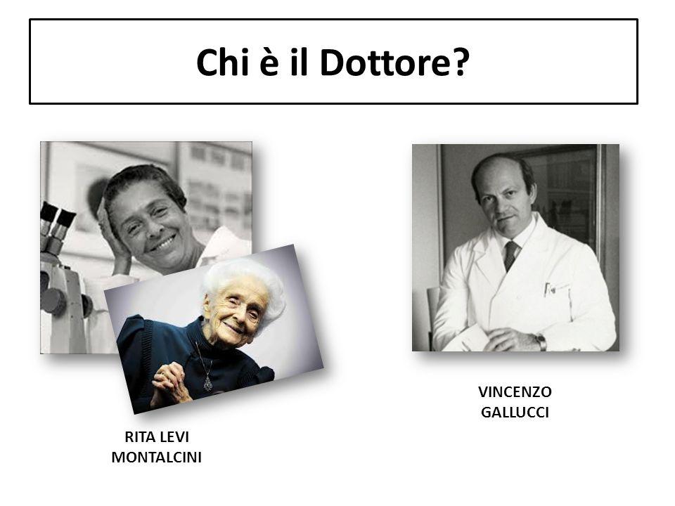 Chi è il Dottore VINCENZO GALLUCCI RITA LEVI MONTALCINI