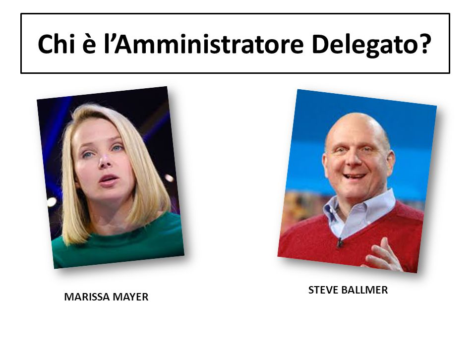 Chi è l'Amministratore Delegato