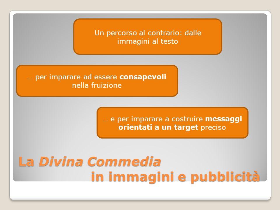 La Divina Commedia in immagini e pubblicità