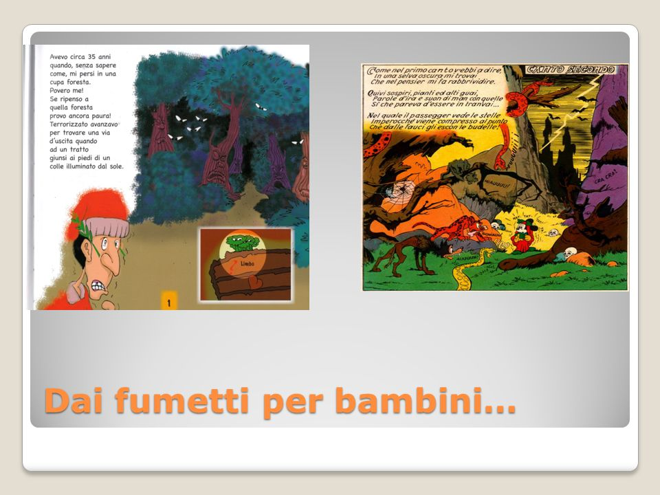 Dai fumetti per bambini…
