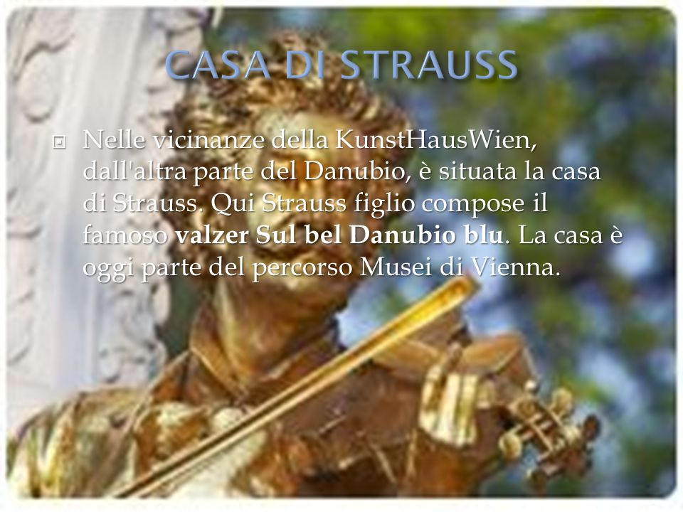 CASA DI STRAUSS