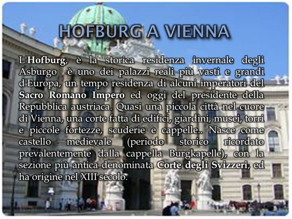 HOFBURG A VIENNA
