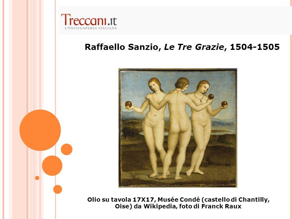 Raffaello Sanzio, Le Tre Grazie, 1504-1505