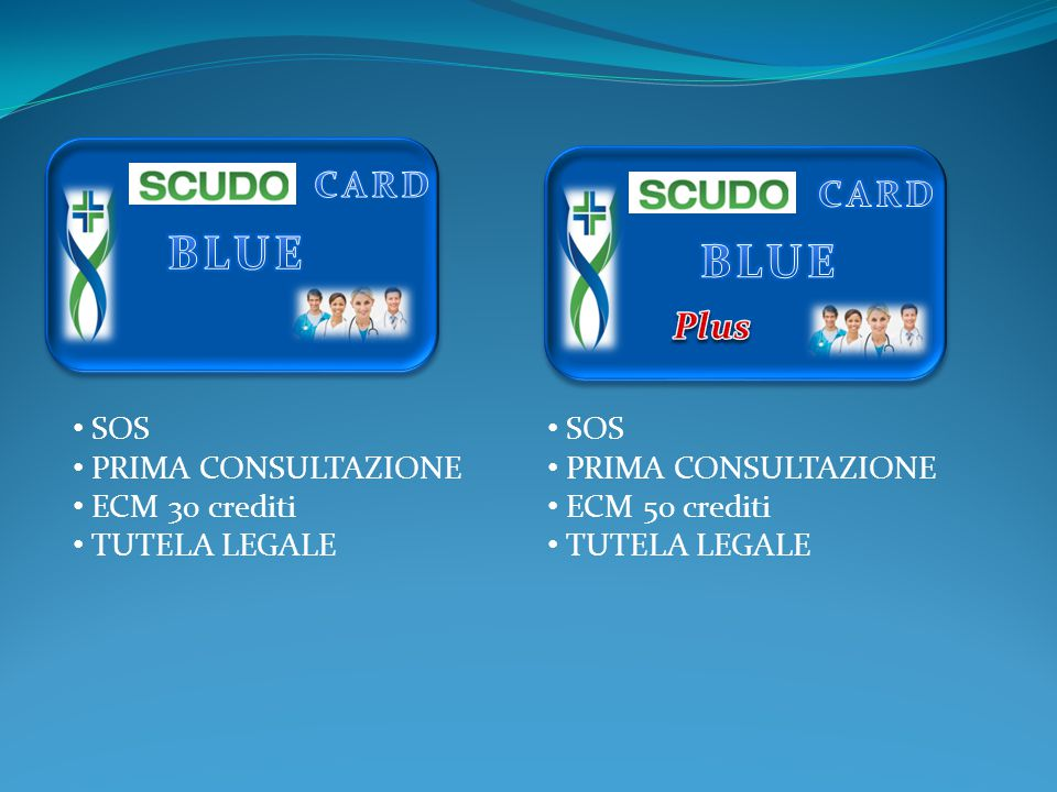 CARD SOS PRIMA CONSULTAZIONE ECM 30 crediti TUTELA LEGALE SOS