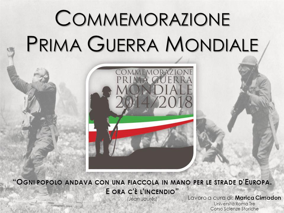 Commemorazione Prima Guerra Mondiale