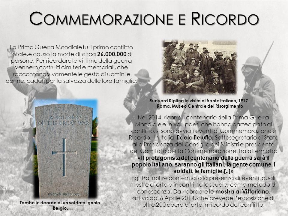 Commemorazione e Ricordo