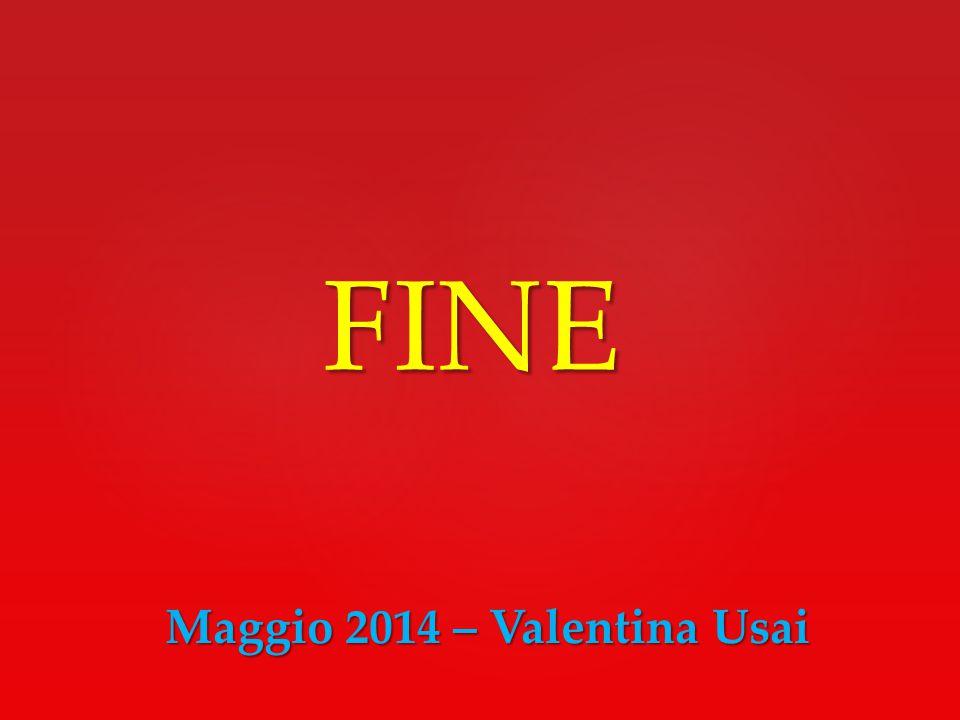 Maggio 2014 – Valentina Usai