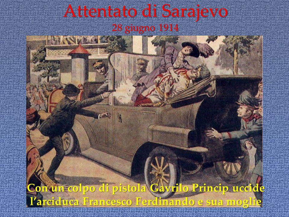 Attentato di Sarajevo 28 giugno 1914