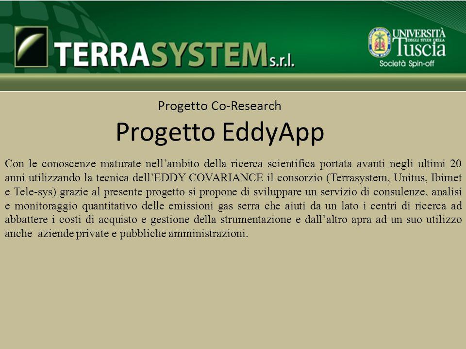 Progetto Co-Research Progetto EddyApp