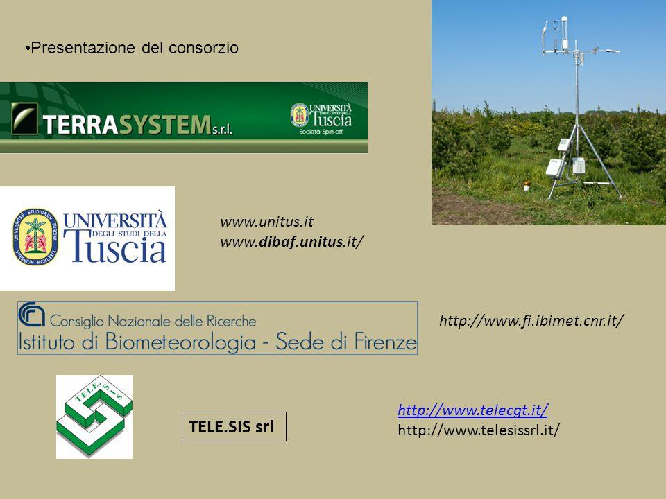 TELE.SIS srl Presentazione del consorzio www.unitus.it