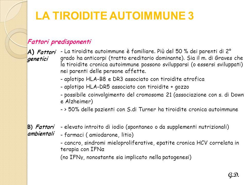 LA TIROIDITE AUTOIMMUNE 3