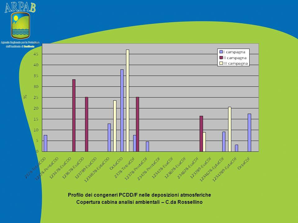 Copertura cabina analisi ambientali – C.da Rossellino