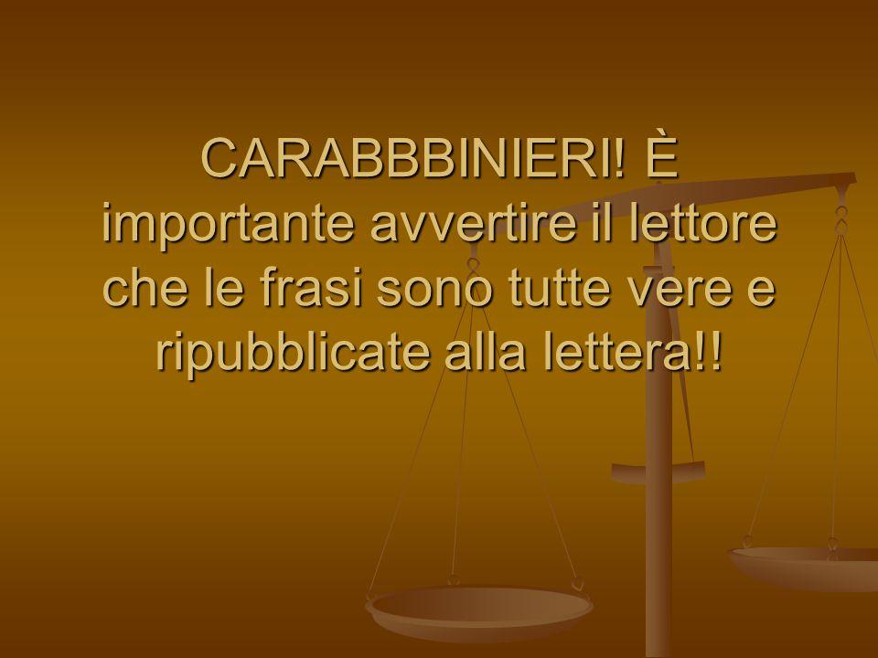 CARABBBINIERI.