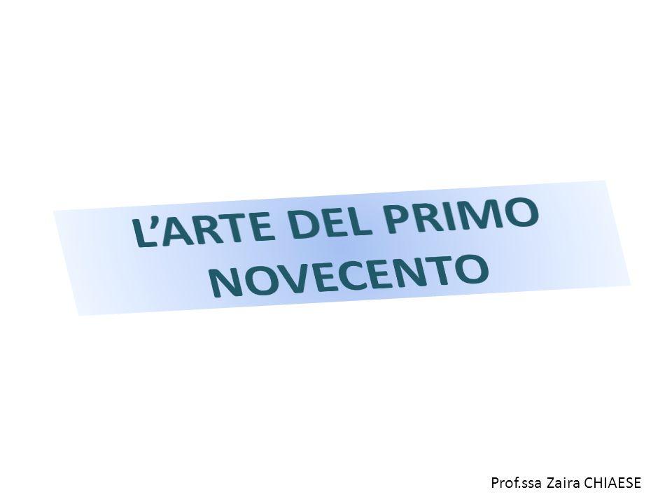 L'ARTE DEL PRIMO NOVECENTO
