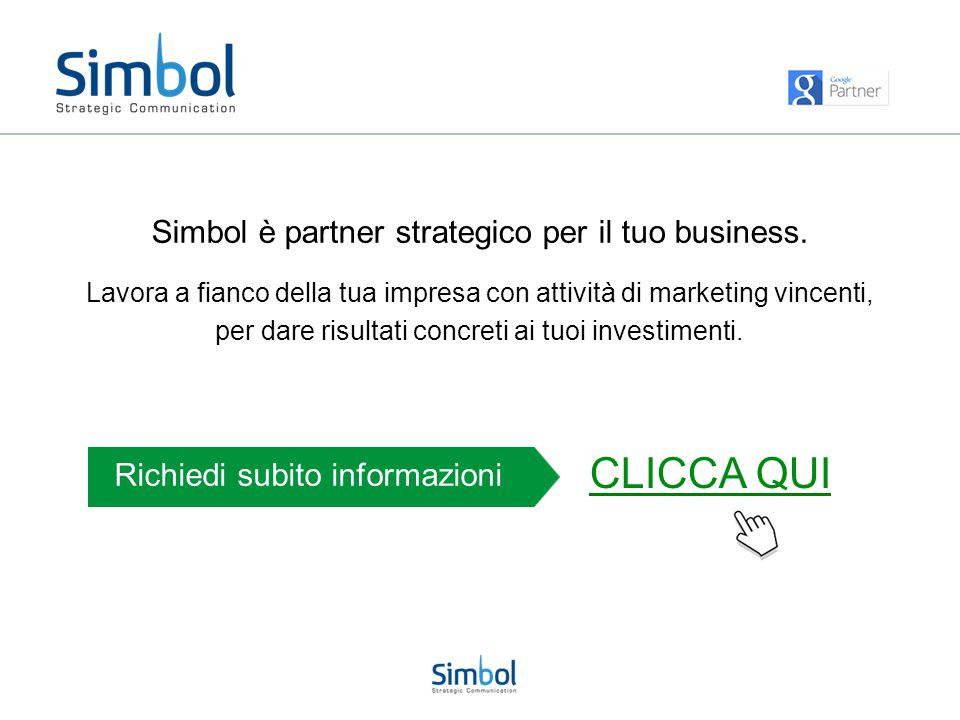 CLICCA QUI Simbol è partner strategico per il tuo business.