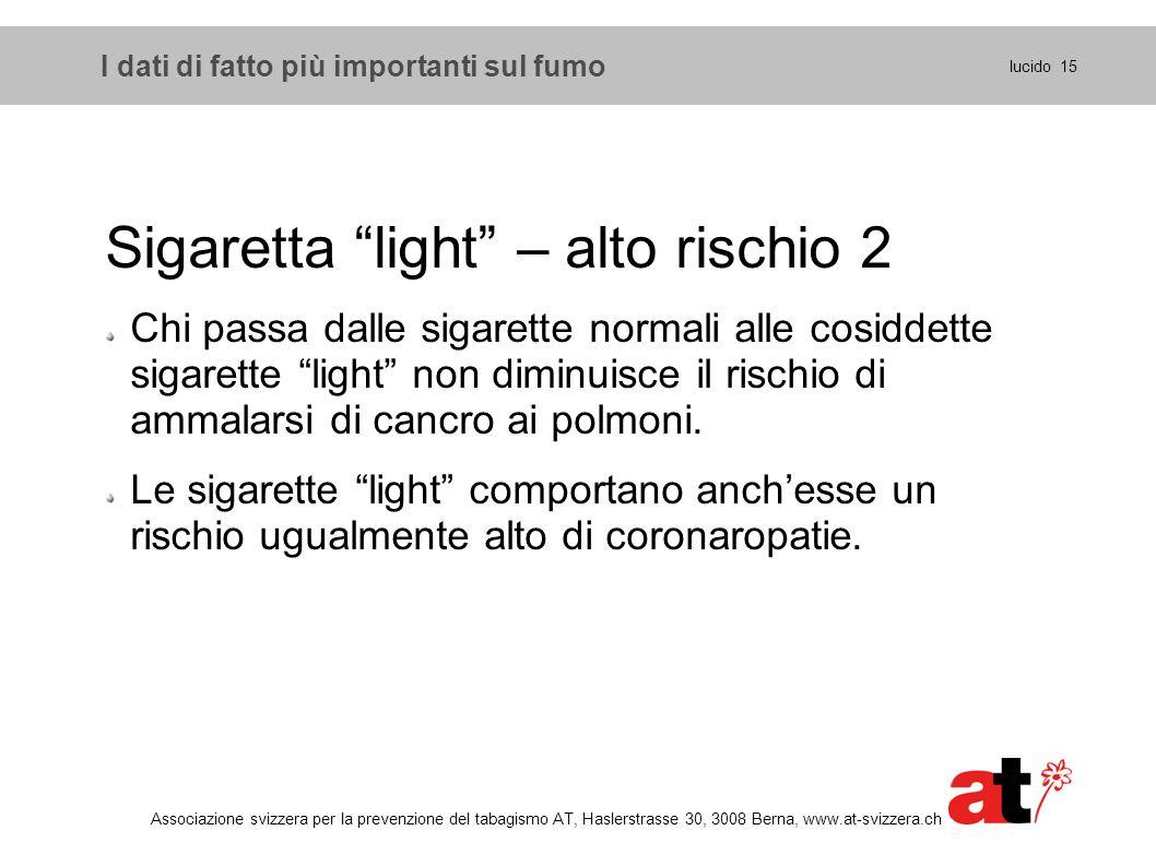 Sigaretta light – alto rischio 2