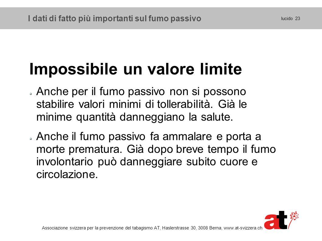 Impossibile un valore limite