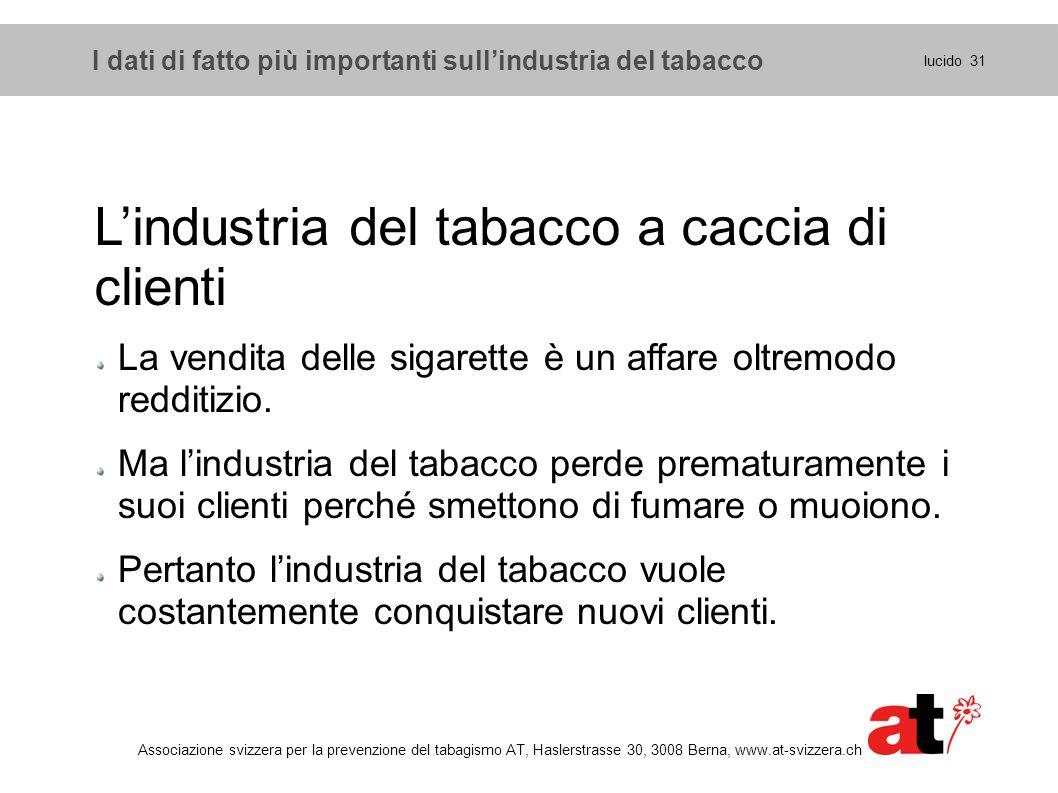 L'industria del tabacco a caccia di clienti
