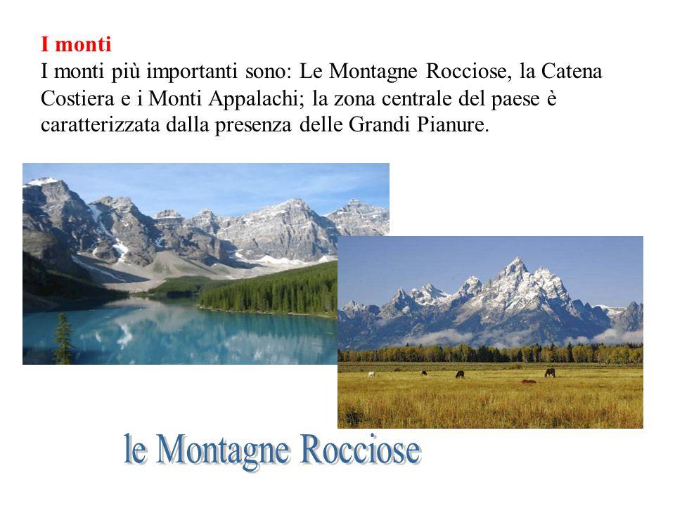 le Montagne Rocciose I monti