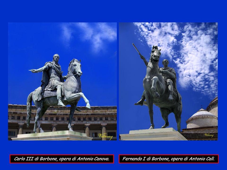 Carlo III di Borbone, opera di Antonio Canova.