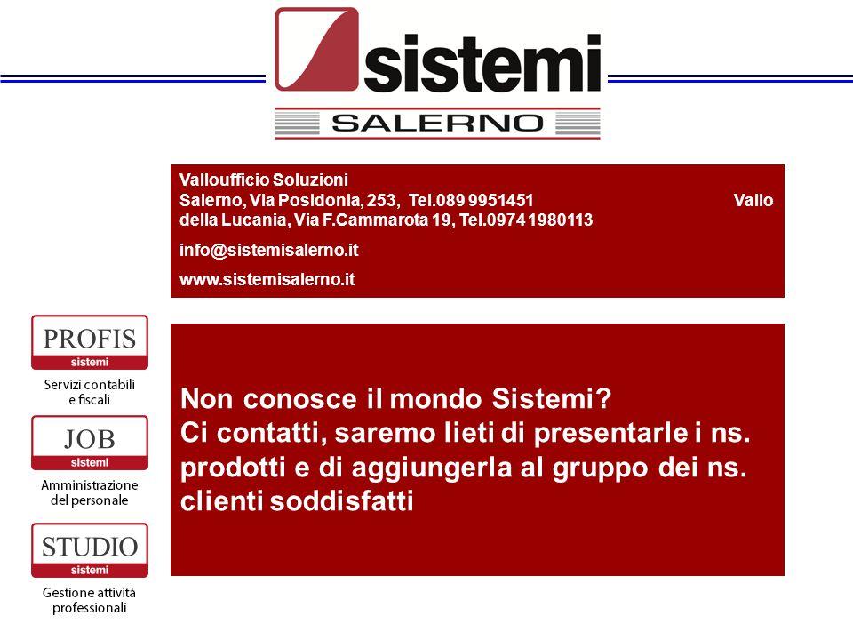 Valloufficio Soluzioni Salerno, Via Posidonia, 253, Tel