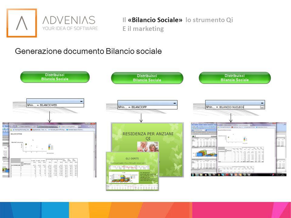 Generazione documento Bilancio sociale