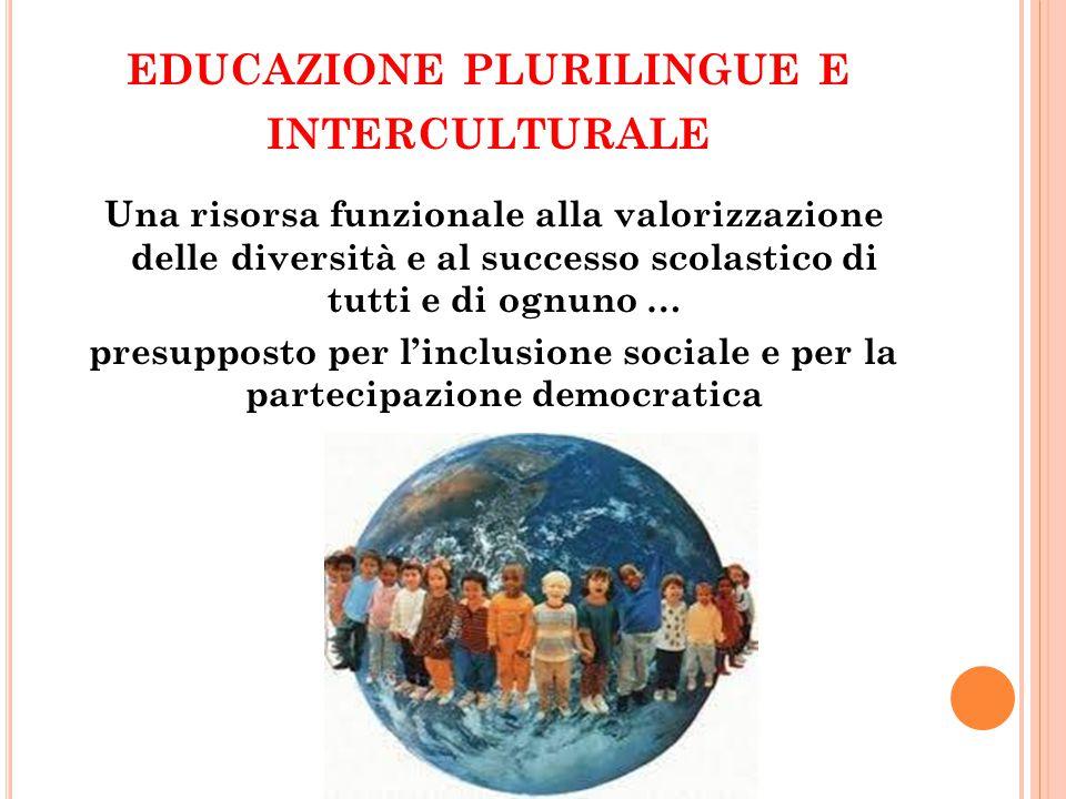 educazione plurilingue e interculturale