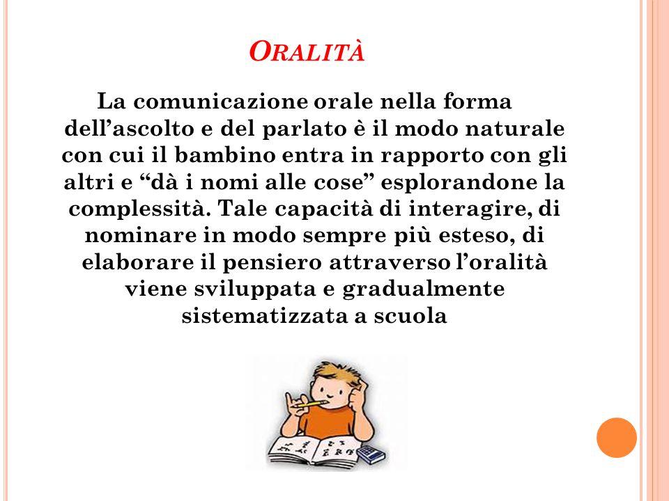 Oralità