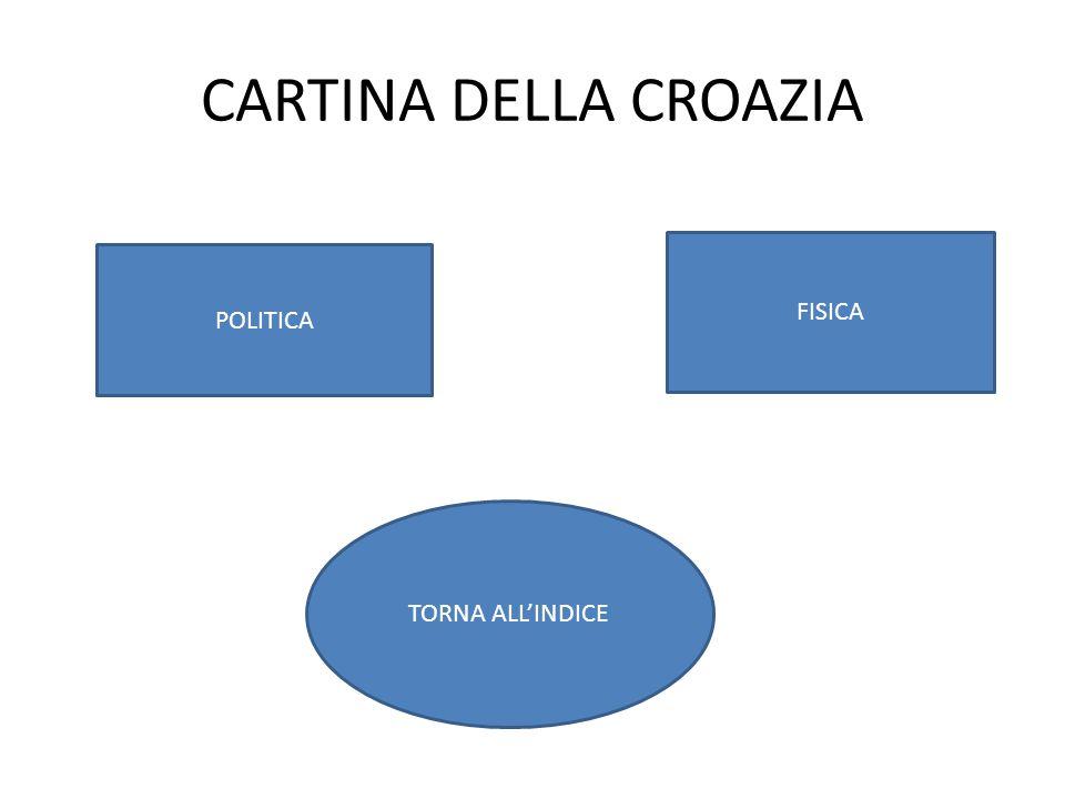 CARTINA DELLA CROAZIA FISICA POLITICA TORNA ALL'INDICE