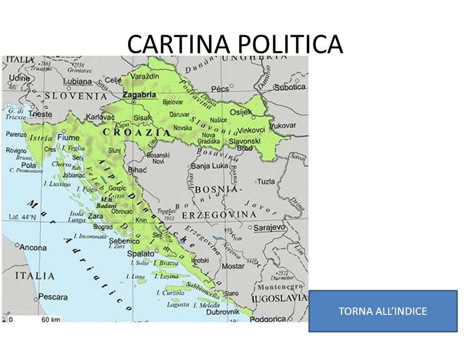CARTINA POLITICA TORNA ALL'INDICE