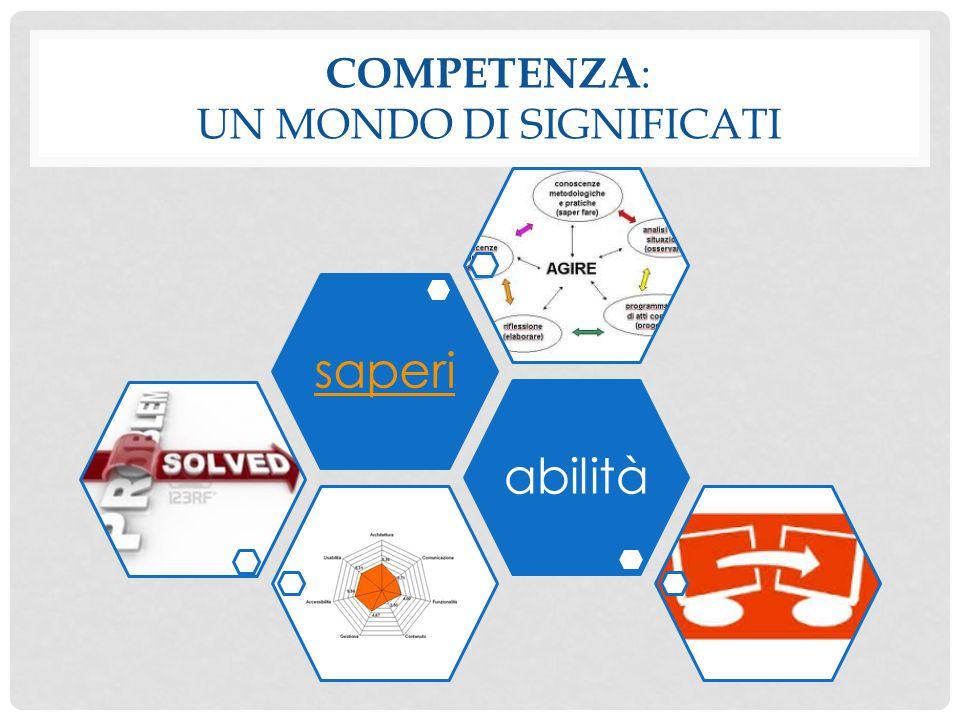 Competenza: un mondo di significati