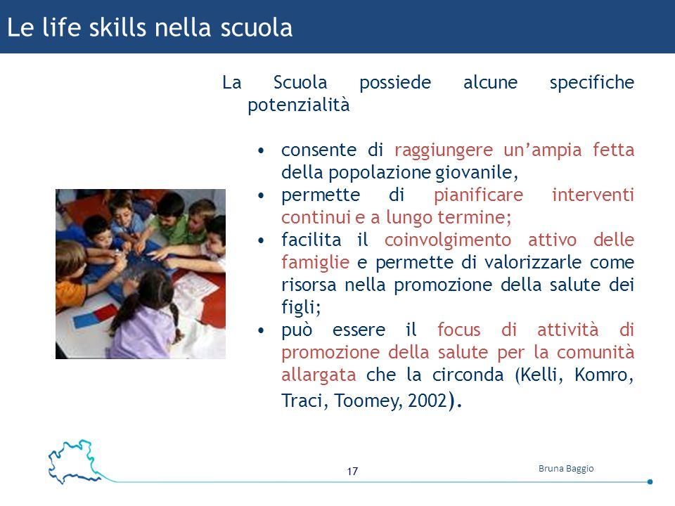 Le life skills nella scuola
